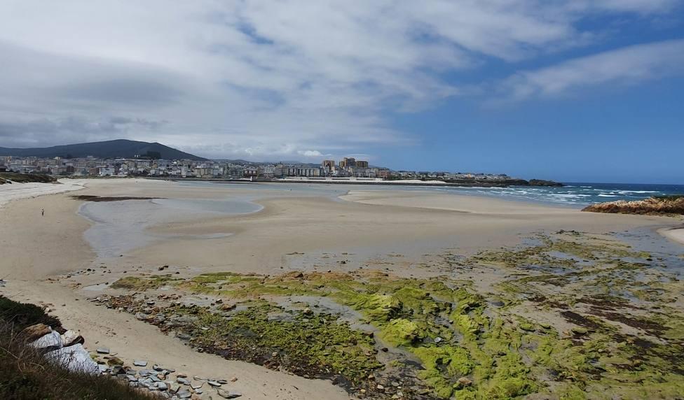 Playa de Altar, en Barreiros