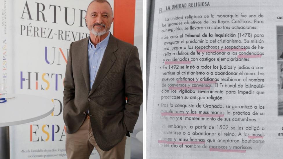 La reacción de Pérez-Reverte al ver un libro de historia con lenguaje inclusivo: Fabricar idiotas