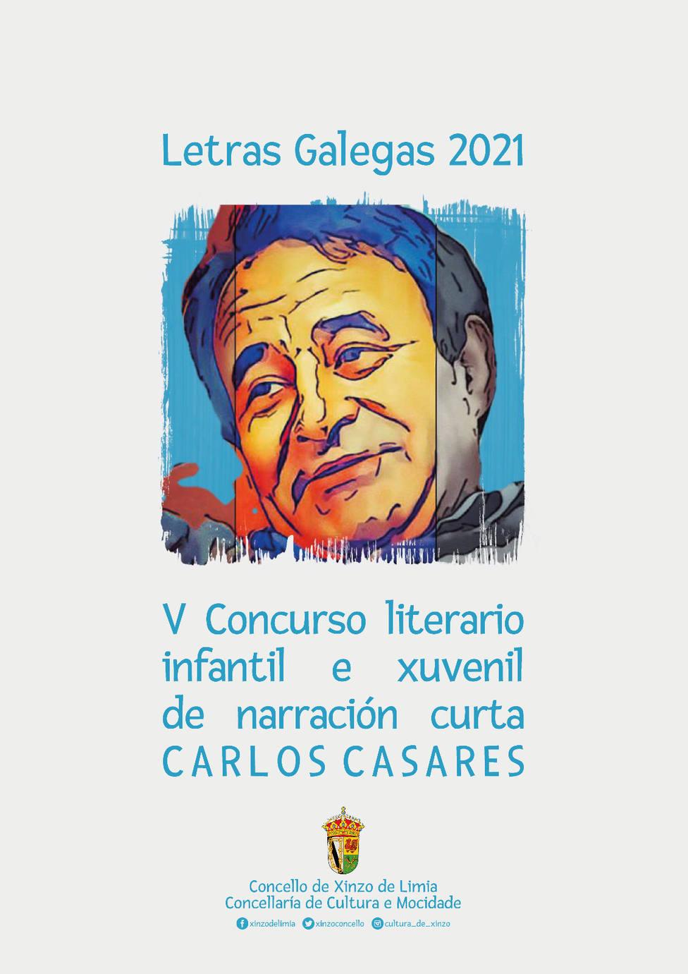 Cartel anunciador del Concurso Carlos Casares
