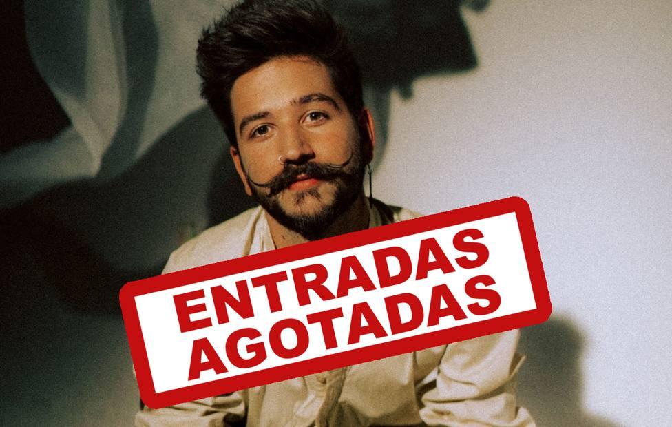Camilo agota sus entradas para Mérida en unas pocas horas