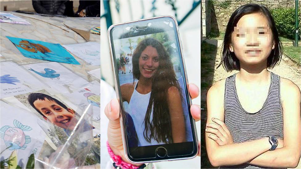 Asunta Basterra, Diana Quer o Gabriel Cruz: cuando las víctimas son los más pequeños