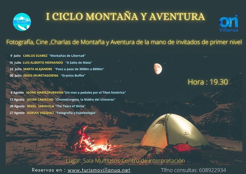 I Ciclo de Montaña y aventura de Villanúa