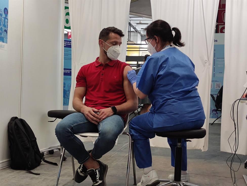 Centro de Vacunación de la Fira Barcelona