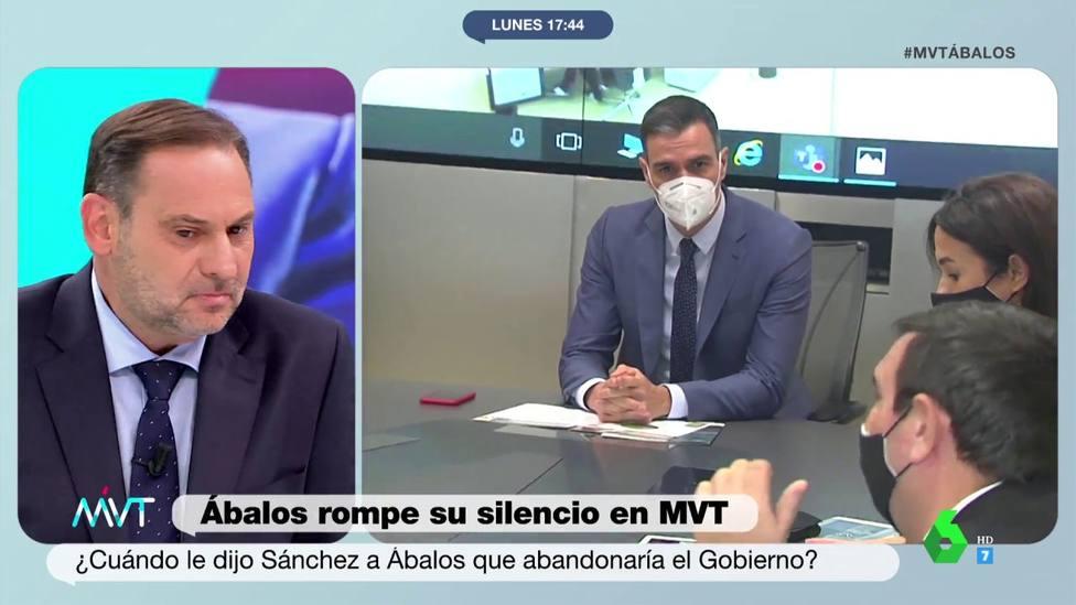 José Luis Ábalos en Más vale tarde