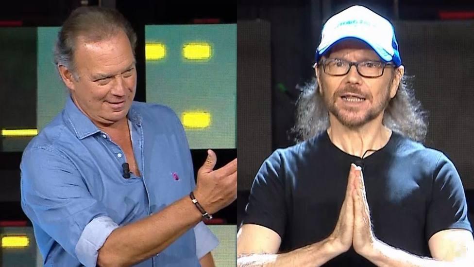 Bertín Osborne y Santiago Segura