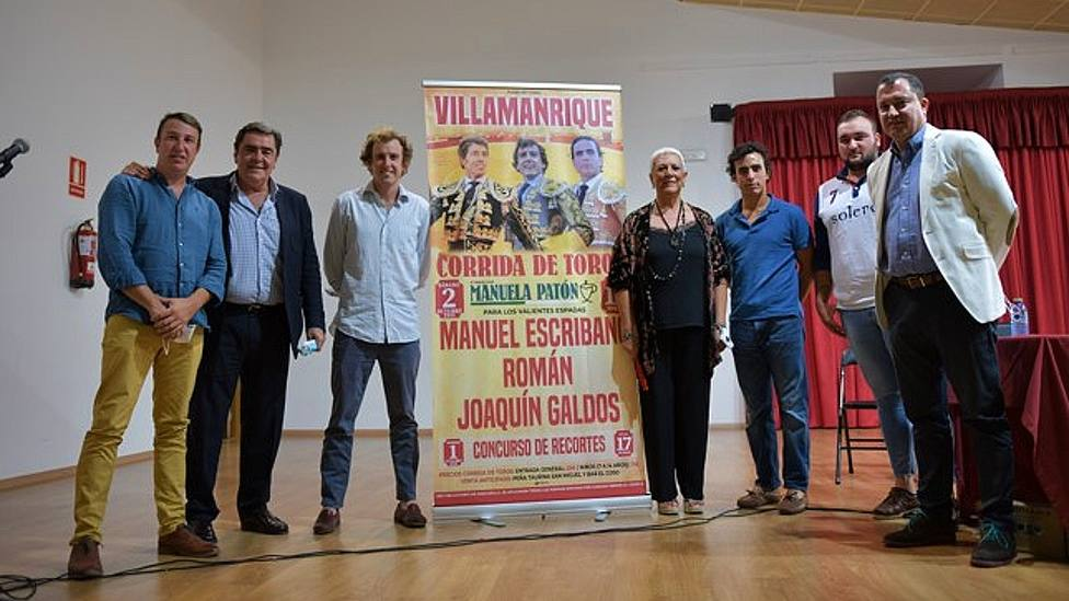 Acto de presentación de los carteles de la feria de Villamanrique