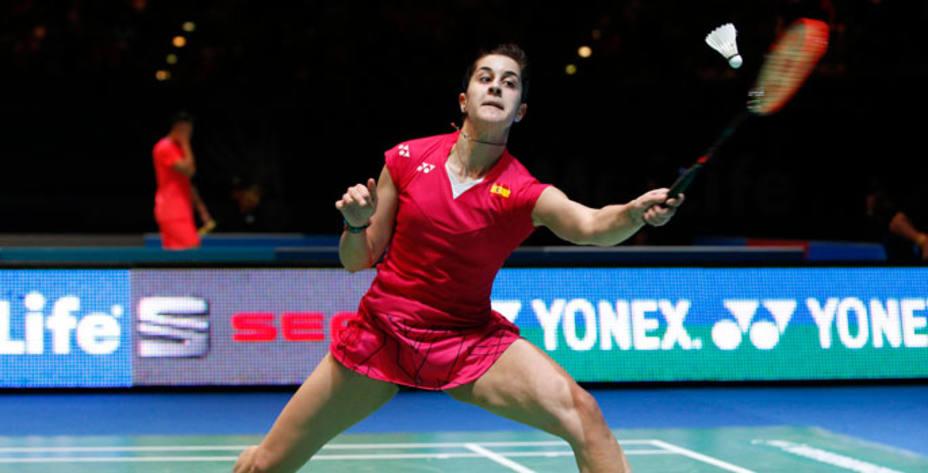 Carolina Marín es la actual campeona del mundo y de Europa de Bádminton. Reuters.