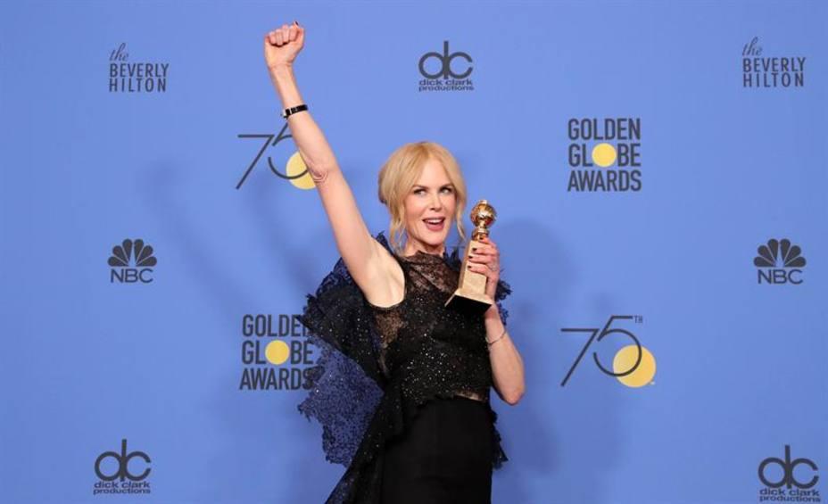Hollywood grita contra el acoso sexual en los Globos de Oro