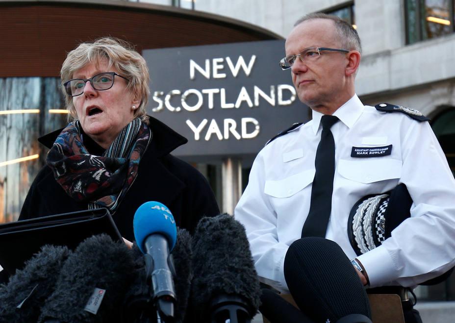 Agentes de Scotland Yard explican el envenenamiento del exespía ruso. REUTERS