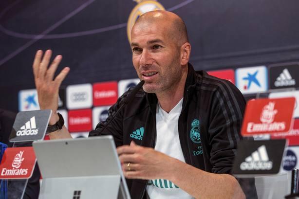 Rueda de prensa tras el entrenamiento Real Madrid