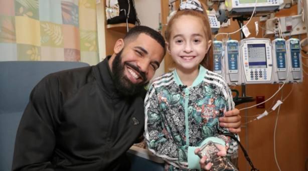 El rapero Drake con Sofía | YOUTUBE