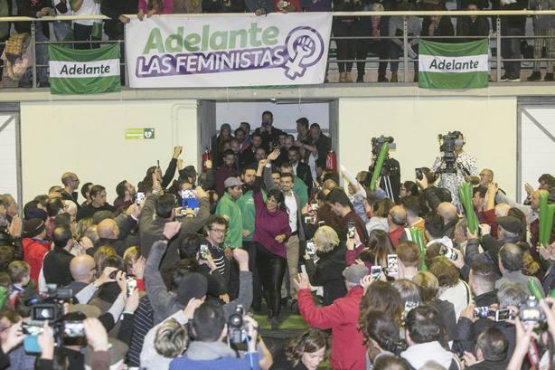 Teresa Rodríguez garantiza que no renunciará como Susana Díaz a la financiación que corresponde a Andalucía