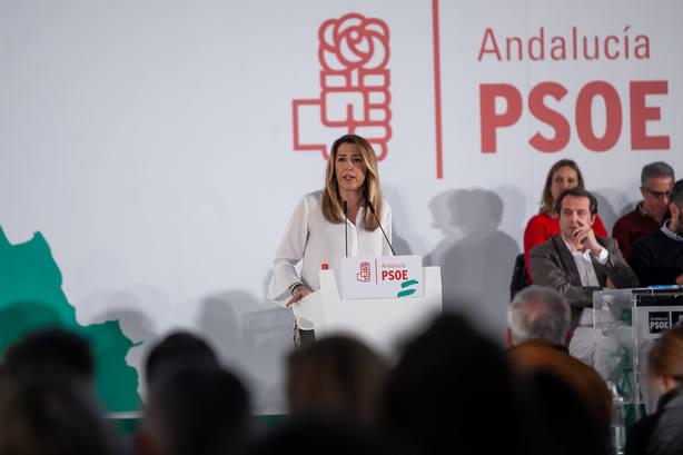 El Comité Director del PSOE-A analiza la nueva situación política y la preparación de las municipales