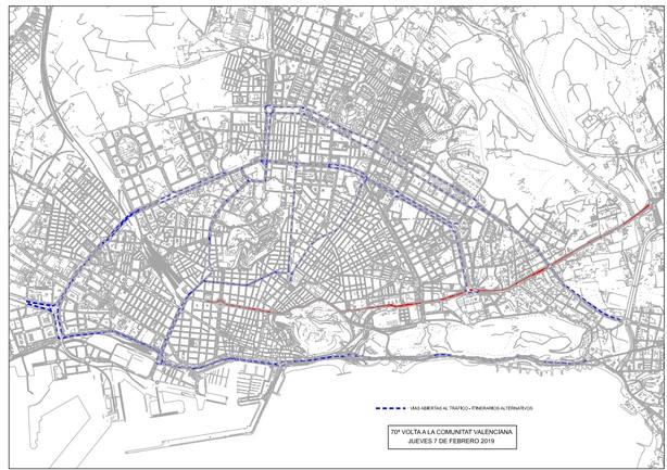 Mapa Dispositivo Corte Tráfico (Ayuntamiento)