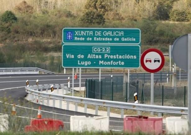 La conversión en autovía del corredor entre Lugo y Monforte empezará en 2020 con 24 meses de plazo