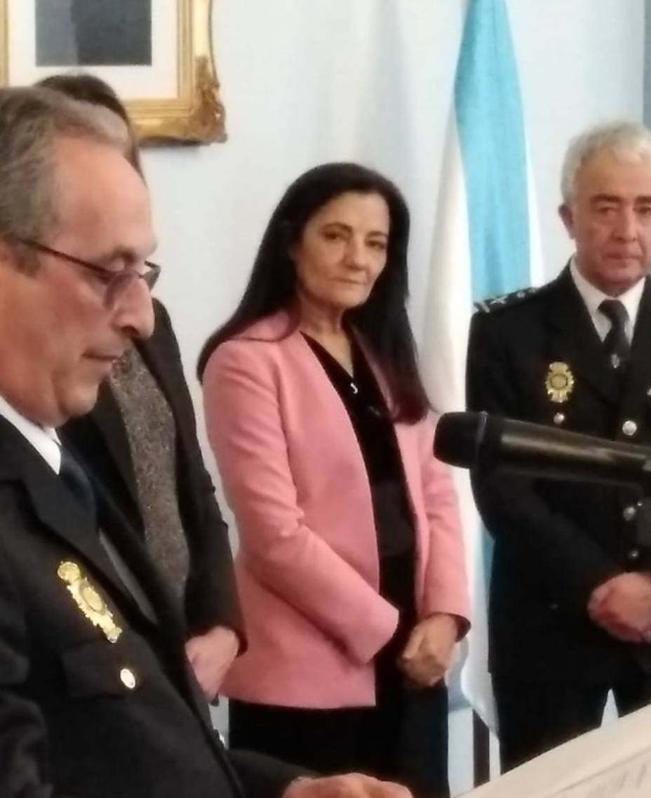 """La subdelegada en Lugo culpa al gobierno del PP del """"déficit"""" en la Policía Nacional"""