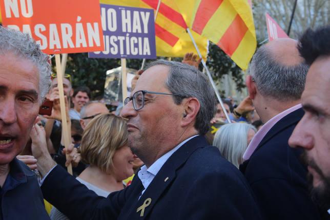 Torra pide a España que escuche los gritos de la libertad y que se pregunte en qué ha fallado