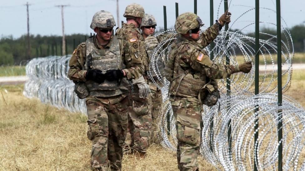 Estos militares se unirán a unos 2.500 en activo y 2.000 soldados de la Guardia Nacional que ya están allí