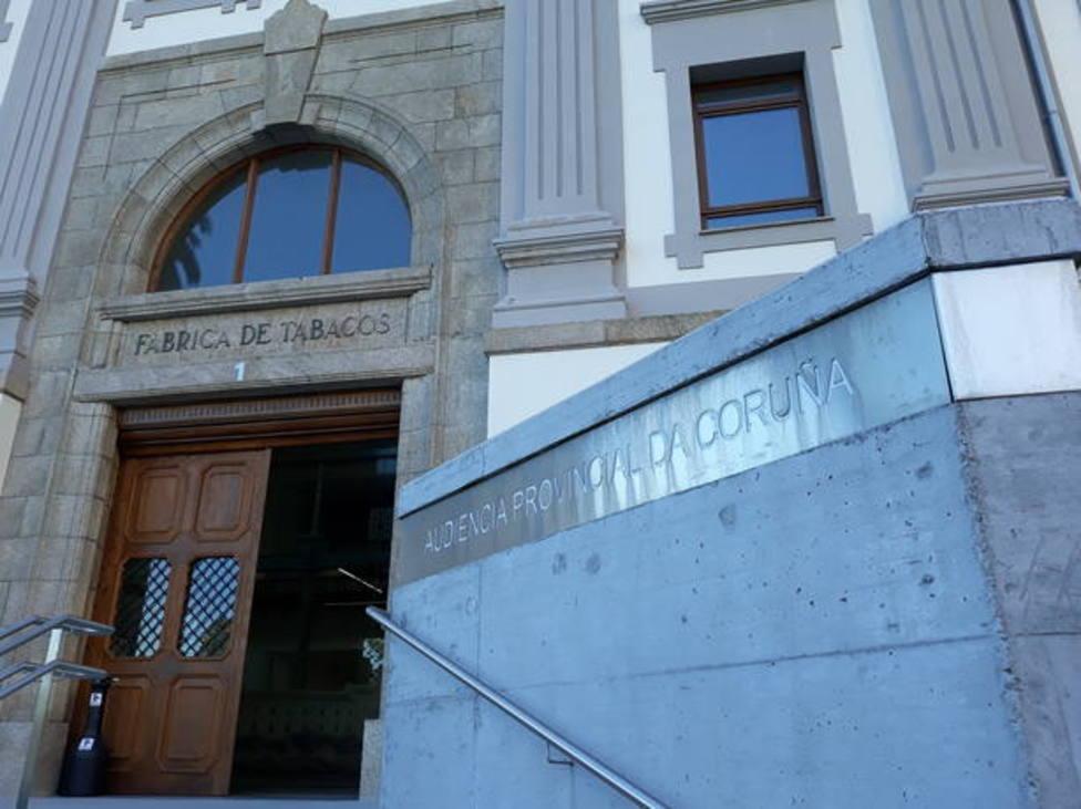 Foto de archivo de la Audiencia Provincial de A Coruña
