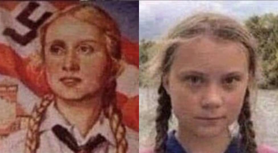 """Hermann Tertsch llama """"niña enferma"""" a Greta Thunberg y compara su mensaje con la propaganda nazi"""