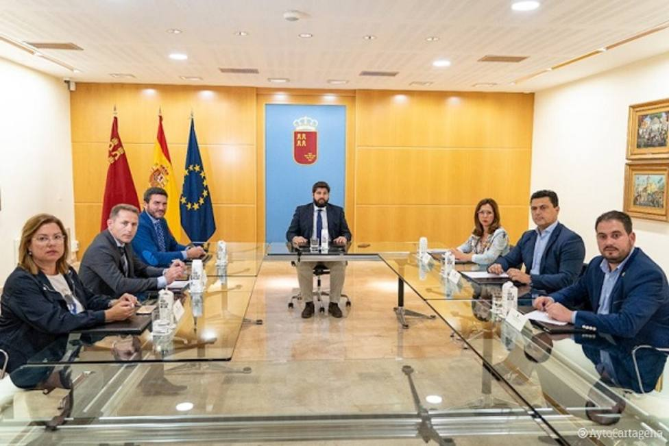Los alcaldes del Mar Menor piden unidad para la recuperación de la laguna salada