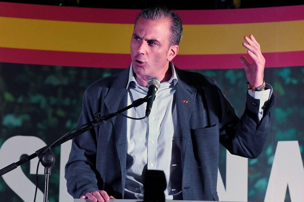 El encendido alegato de Ortega Smith en favor de la Policía Nacional tras los disturbios de Cataluña
