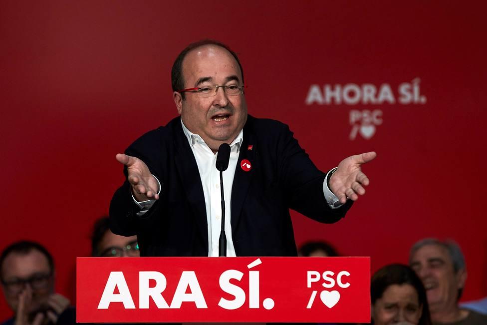 Acto político con el mundo local en Sant Joan Despí,