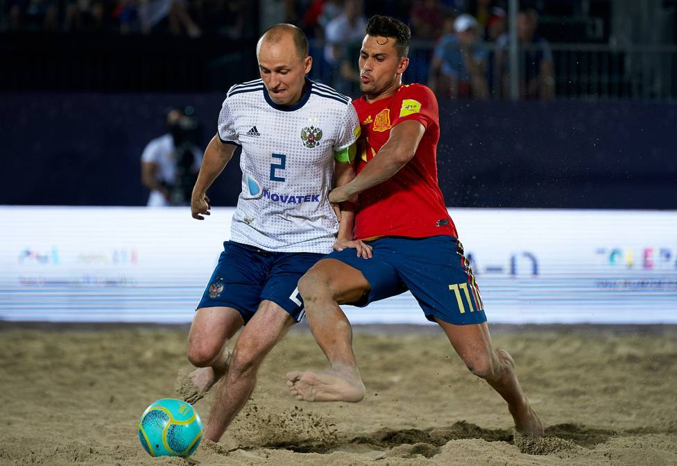 España Fútbol Playa se clasifica para la final de la Intercontinental