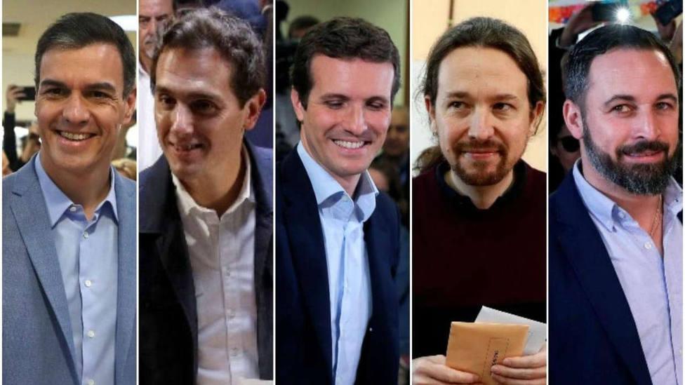 Descubre dónde y a qué hora votarán los principales líderes políticos