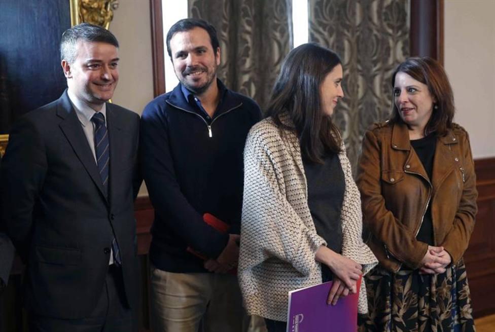 ¿Cuáles son los posibles candidatos a ministro de Unidas Podemos?