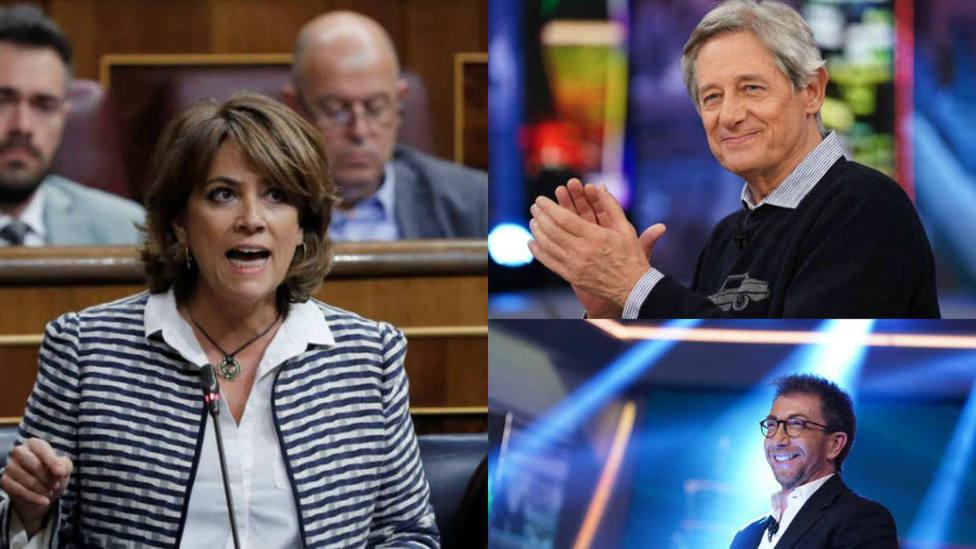 La sonada crítica de Josema Yuste y Pablo Motos contra el nombramiento de Dolores Delgado