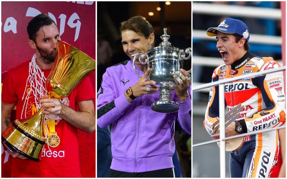 Marc Márquez, Nadal y la selección española de baloncesto, nominados a los Laureus 2020
