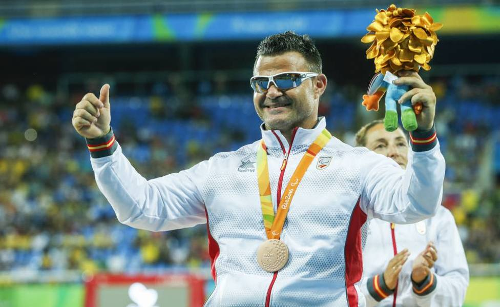 David Casinos ha ganado cuatro oros paralímpicos