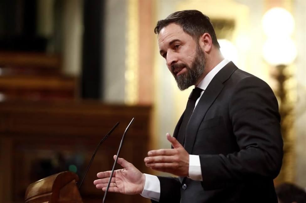 Abascal exige reabrir el Congreso para controlar al Gobierno negligente