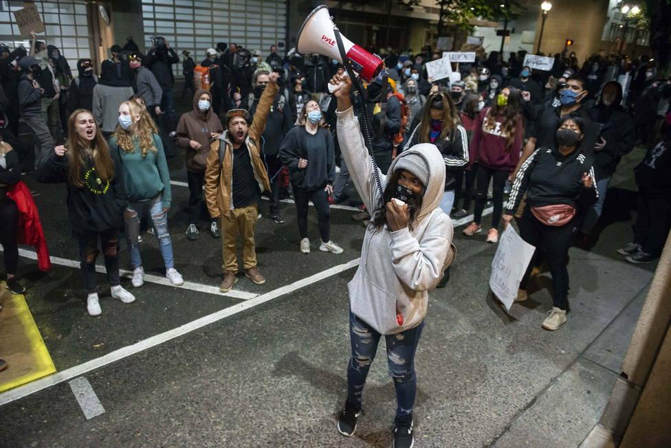 Protestas en Portland
