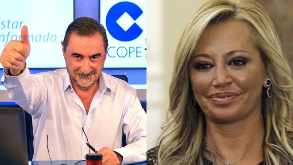 Carlos Herrera desvela cómo va el fichaje de Belén Esteban y apunta a un nuevo candidato: Es amigo mío
