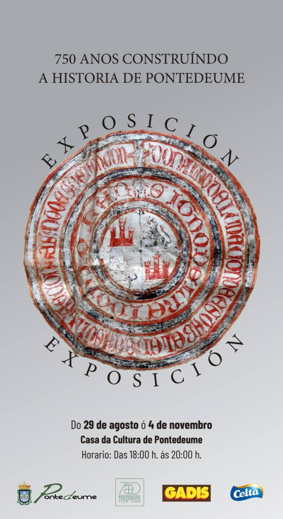 La exposición se podrá visitar hasta el próximo 4 de noviembre - FOTO: Concello Pontedeume
