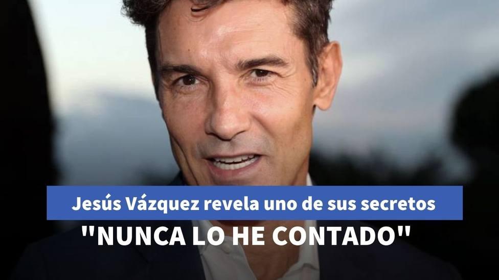 Jesús Vázquez revela uno de sus mayores secretos en televisión