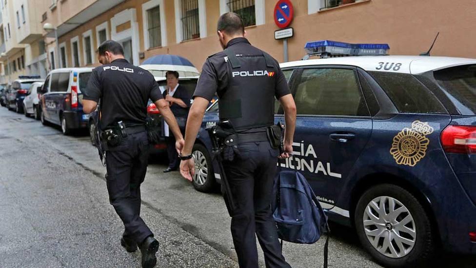 Efectivos de la Policía Nacional detuvieron al fugitivo.