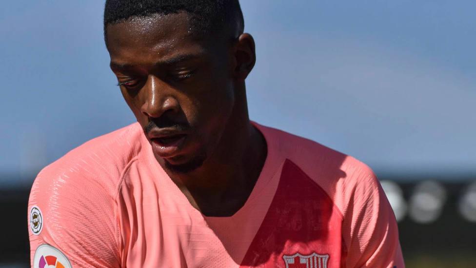 Ousmane Dembélé, en un partido con el FC Barcelona. CORDONPRESS