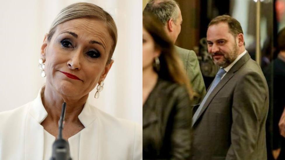 La foto con la que Cristina Cifuentes acorrala a José Luis Ábalos: Ocurría esta mañana