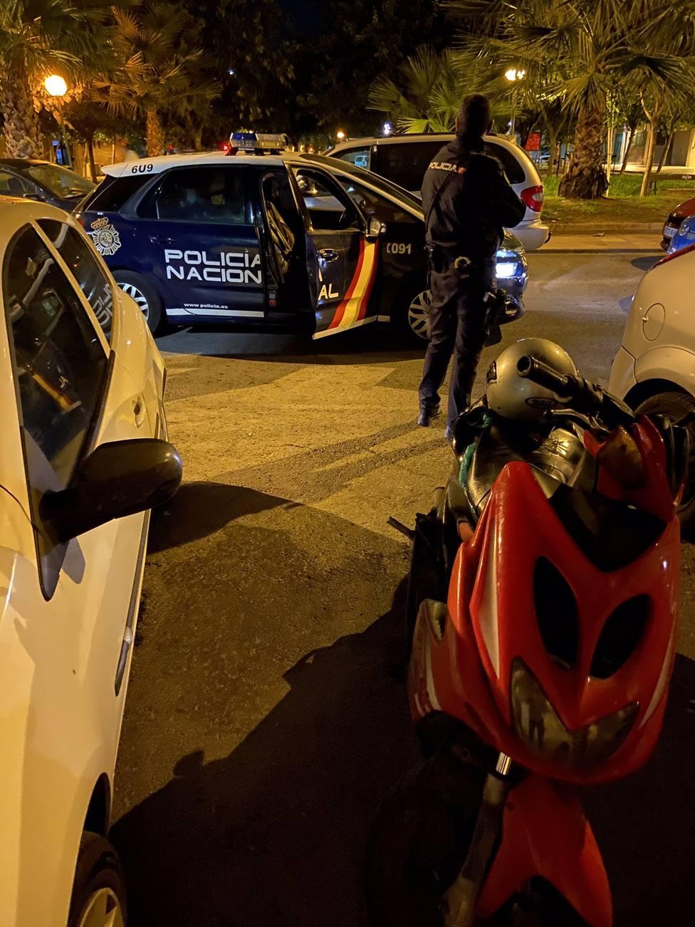 La Policía Nacional detiene dos días consecutivos a la misma persona por robar ciclomotores