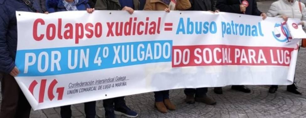 Satisfacción en Lugo por la creación del demandado cuarto Xulgado do Social