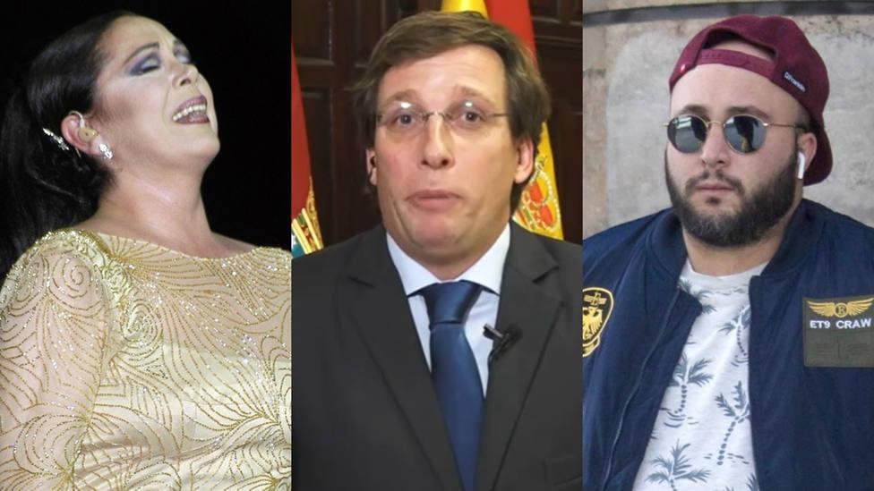 Martínez-Almeida elige bando en la guerra Isabel Pantoja-Kiko Rivera y recuerda su situación personal