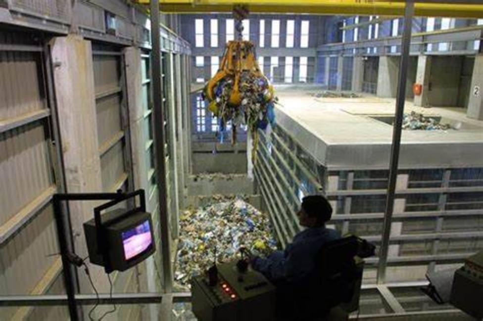 Foso de descarga de residuos