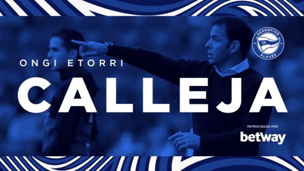 Javi Calleja, nuevo entrenador del Deportivo Alavés
