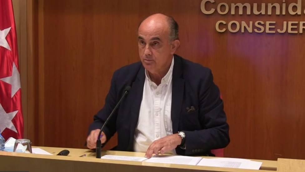 Antonio Zapatero, viceconsejero de Salud Pública y Plan COVID