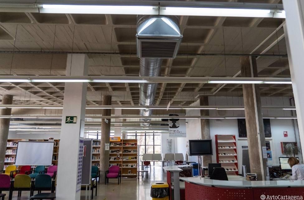 La Biblioteca Josefina Soria, en el Luzzy, reabre sus puertas este lunes