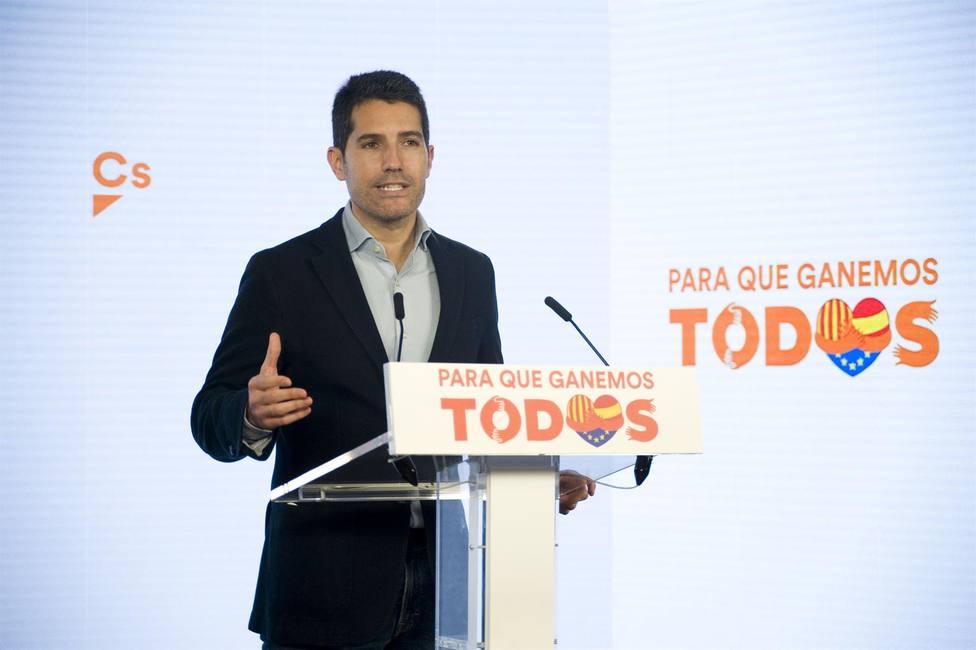 El portavoz de Cs en el Parlament, Nacho Martín Blanco - Alberto Paredes - Europa Press - Archivo