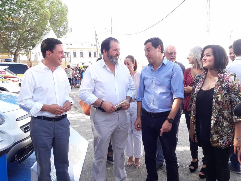 Sevilla.-Acuerdo entre Pérez y �vila, que será vicepresidente en PP, con un comité que tendrá todas las sensibilidades